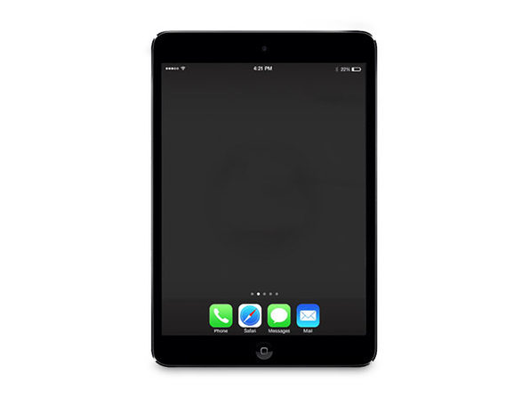 "Apple iPad Mini 2 7.9"" 128GB WiFi Space Gray (Certified Refurbished)"