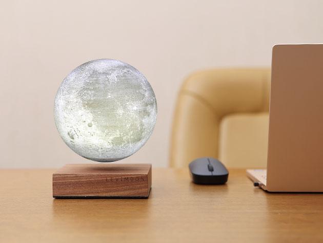 A levitating moon light.