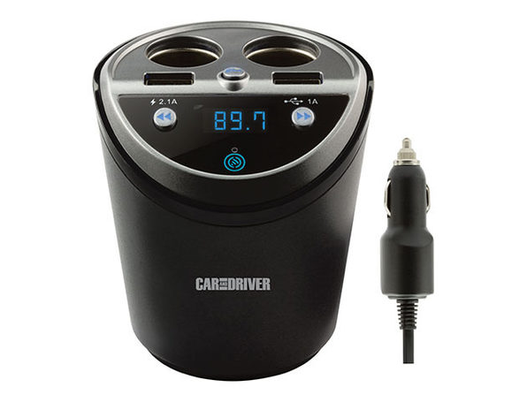 Car & Drive Dual Socket Power Cup Kit