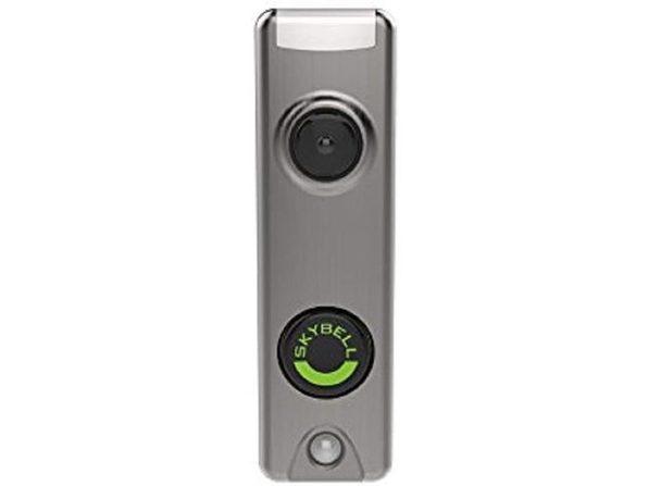 SkyBell Honeywell Slim Design 1080p Wi-Fi HD Video Doorbell - Silver Finish (Distressed Box)