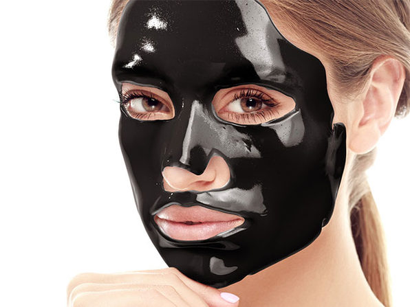 Black Truffle Face Mask And Gold Eye Mask Set