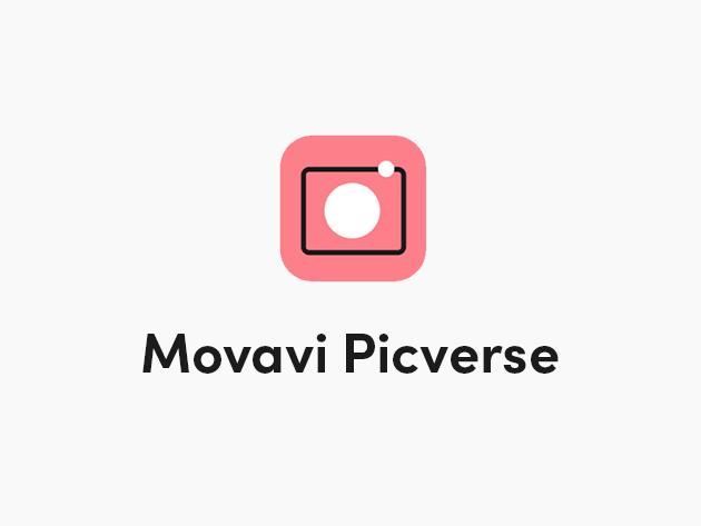 Movavi Picverse Photo Editor for Mac & Windows: Personal Lifetime License