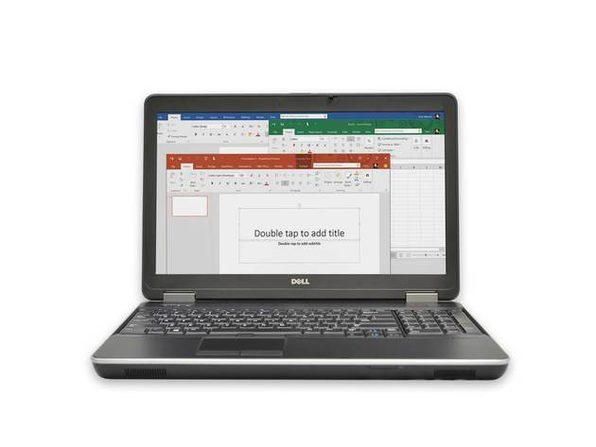 "Dell Latitude E6540 15"" Laptop, 2.6 GHz Intel i7 Dual Core Gen 4, 4GB RAM, 500GB SATA HD, Windows 10 Home 64 Bit (Refurbished Grade B)"