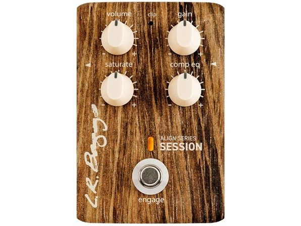 L.R. Baggs Align Session Compressor/Saturator Acoustic-Electric Guitar EQ Pedal (Used, Damaged Retail Box)