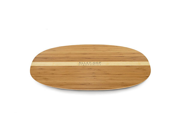 AlleyOOP Wood Rocker Board (Bamboo/Medium)