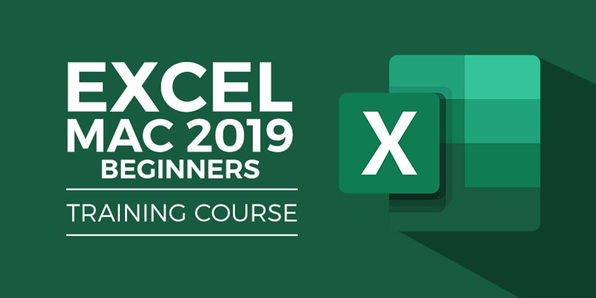 Excel Beginner 2019 for Mac  - Product Image