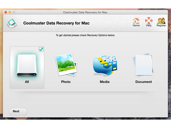 Data Recovery for Mac - Product Image