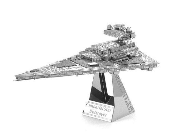 Imperial Star Destroyer 3D DIY Metal Sculpture