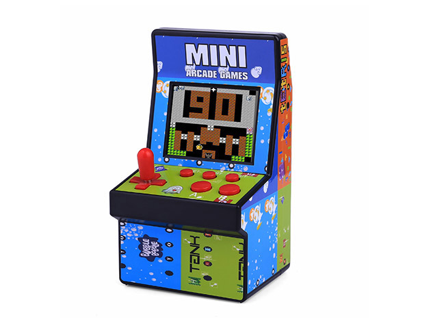 Re-live your childhood with this mini arcade gaming machine