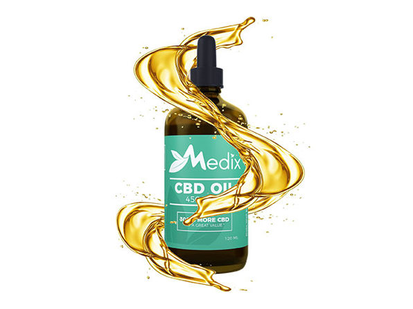 Medix CBD Oil 4500MG (120ML)
