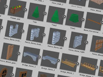 Modular Assets 3D Graphic Pack - Product Image