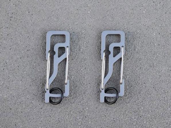 Key Titan KT5 Carabiner: 2-Pack (Silver)