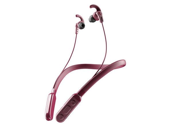 Skullcandy Ink'd+® Active Wireless Sport Earbuds (Deep Red)