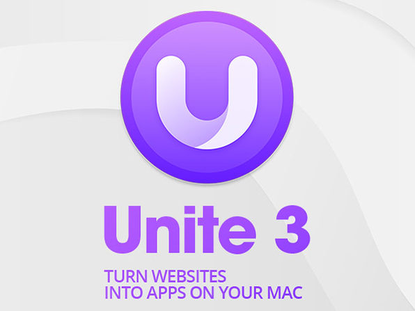 Unite 3: Website-to-App Tool for Mac