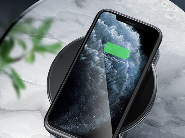 SlimJuicer 4,500mAh Wireless Charging Case for iPhone 11