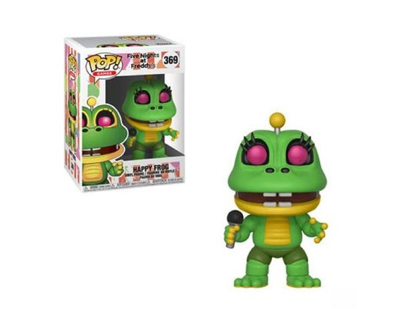 Funko Pop! Games Five Nights at Freddy's Pizza Sim Happy Frog Vinyl Figure #369 - Product Image