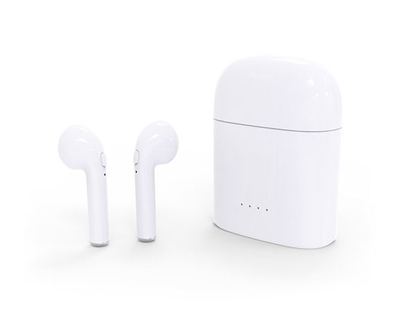 HBQ i7S Twins True Wireless Earphones + Charging Dock (White)