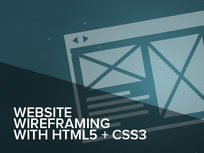 Website Wireframing with HTML 5 & CSS3 Online Short Course - Product Image