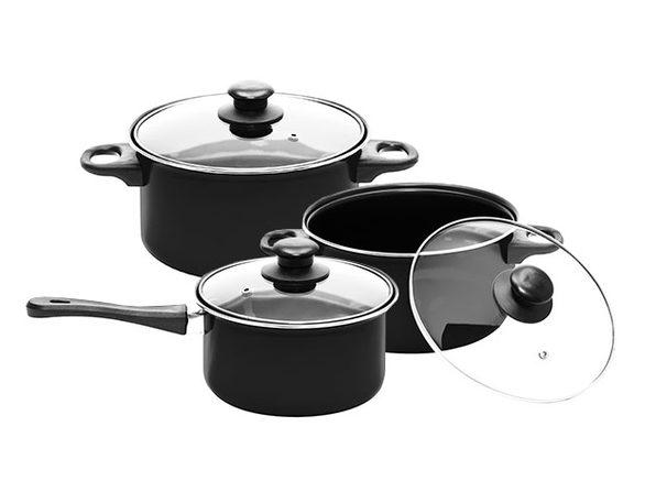 Complete Nonstick Cookware 7-Piece Set