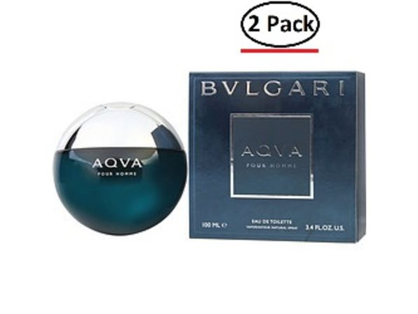 BVLGARI AQUA by Bvlgari EDT SPRAY 3.4 OZ for MEN ---(Package Of 2) - Product Image