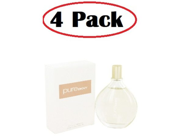 4 Pack of Pure DKNY by Donna Karan Scent Spray 3.4 oz - Product Image