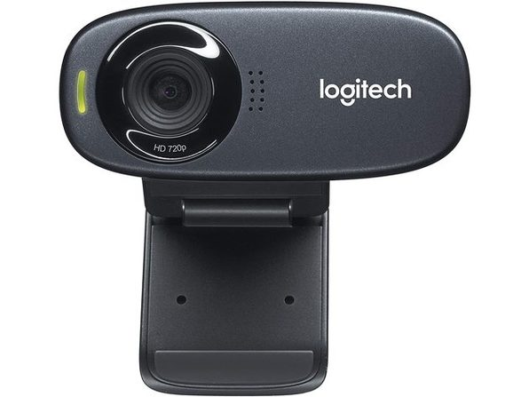 Logitech C310 HD Webcam - Black