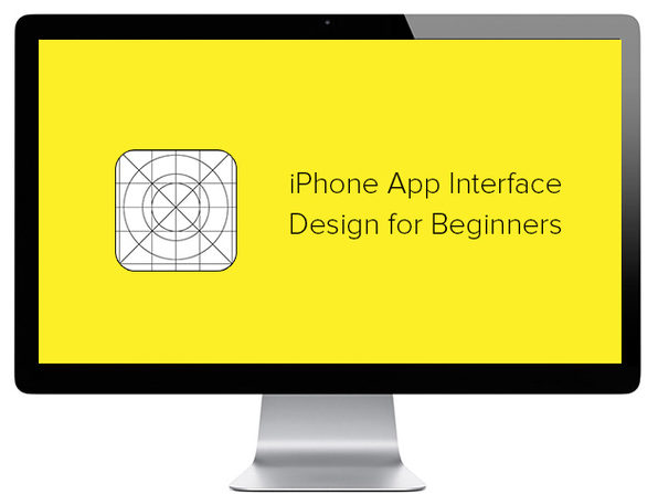 iPhone App Interface Design for Beginners - Product Image