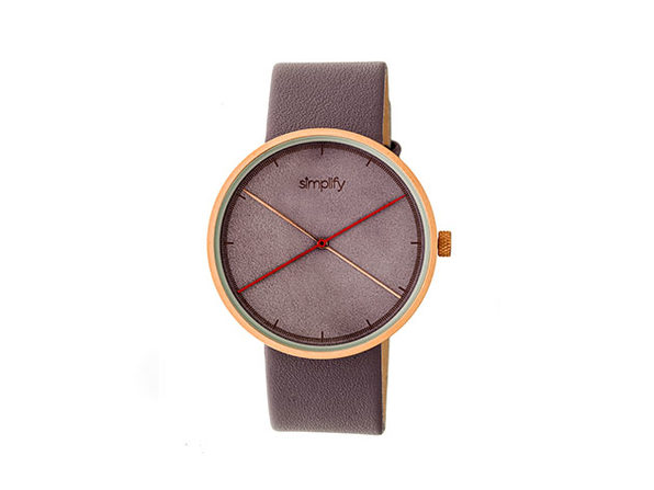 "Simplify ""The 4100 Series"" Men's Quartz Watch (Model 4105)"