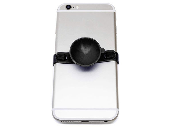 SUC-IT Patented Silicone Suction Phone Holder with Clips