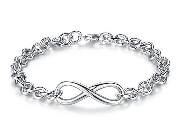 Infinity Multi-link Bracelet 3-Pack - Product Image