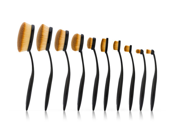 Beauty Experts Brushes: Set of 10