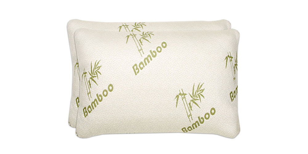 Shredded Memory Foam Bamboo Pillow, on sale for $21.99 (45% off)