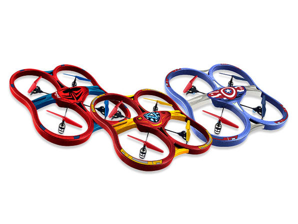 Marvel Licensed RC Super Drones