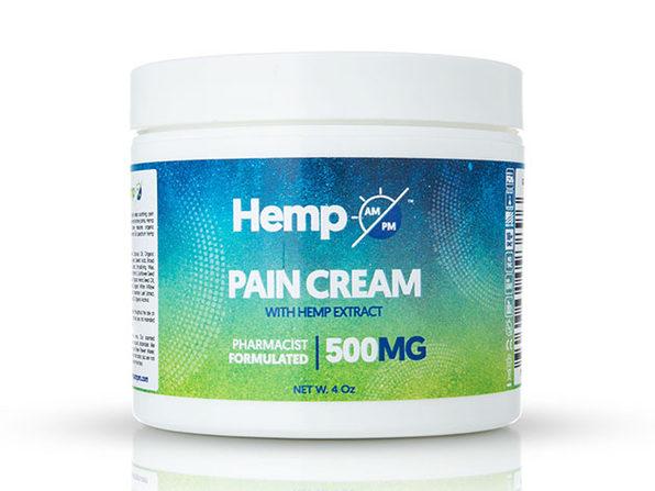 AM/PM Hemp Pain Relief Cream (500mg)