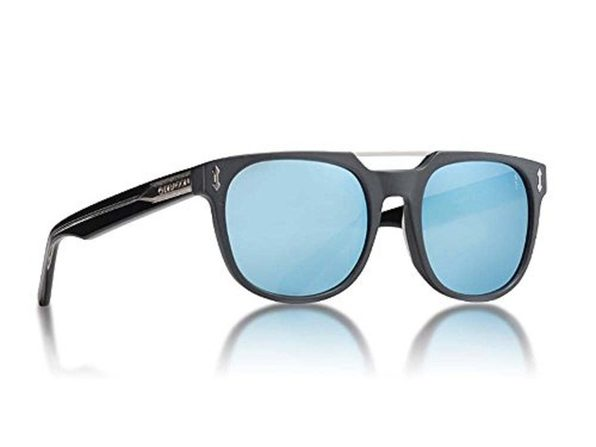 Dragon Alliance Mix 5220002 Sunglasses, Matte Black Blue - Matte Black Blue