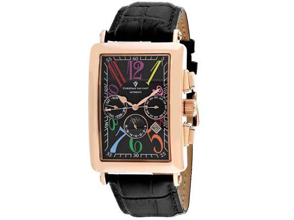 Christian Van Sant Men's Prodigy Black Dial Watch - CV9143 - Product Image