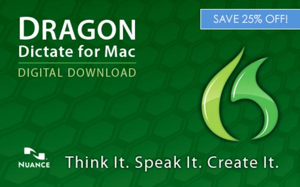 Dragon Dictate for Mac 3 | Cult of Mac Deals