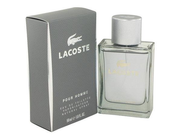 3 Pack Lacoste Pour Homme by Lacoste Eau De Toilette Spray 1.6 oz for Men - Product Image